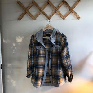 Marmot Hooded Flannel Sweatshirt